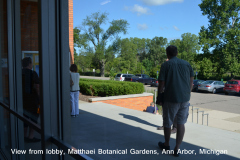 View from Lobby, Matthaei Botanical Gardens, Ann Arbor, Michigan
