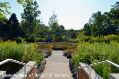 Easterly View of Botanical Gardens